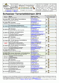 Terraristikboersen 2015